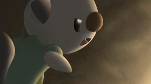 Oshawott in Battle by All0412