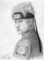 older Naruto Uzumaki by PirateCaptainJess