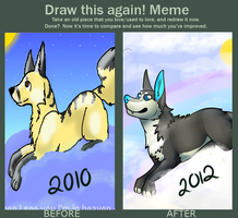 Draw this again [2010-2012] by HORlZON