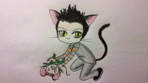 Richard is Totally a Cat by DeviousDevilDoll