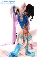 Urd and Belldandy 2 by xxLaylaxx