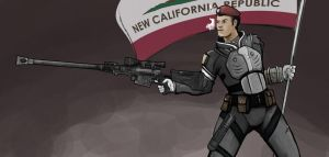 Fallout New Vegas OC by slasher556