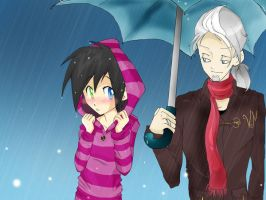 Collab::. Rain by MarticusProductions