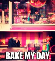 Bake My Day With Gru And Lucy by MidnightRavenBlaz17