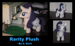 Rarity Plushie by Milayou