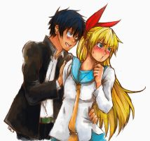 Nisekoi - The Key to Your Heart by SmartChocoBear