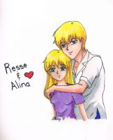 OC - Resse and Alina by Rabbit-of-the-Moon
