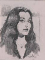 Morticia by MichaelDooney
