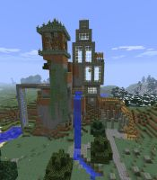 Vertical House by iceshark4
