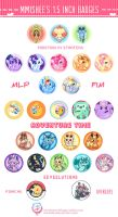 mmishee's 1.5 inch badge sets by mmishee