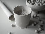 Glass shot 3, clay render by PureSpider