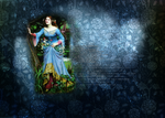 Ophelia by Waterhouse : 2 by olde-fashioned