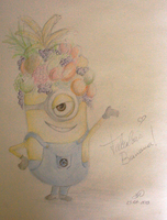 Minion Quick Sketch by MissBillK