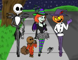 halloween 2010 by MelissaTheHedgehog