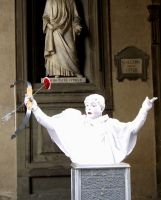 Cupid-Mime at Uffizi by blue-crystall