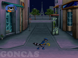 Sly Cooper 2D Game by Goncas by marvinvalentin07