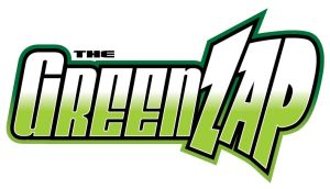 The Green Zap logo by justicefrog