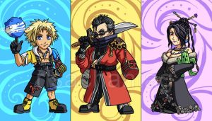 FFX: Sticker Set 1 by Risachantag