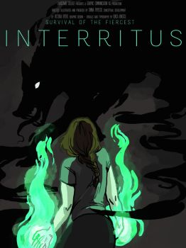 Interritus book cover by LilyScribbles