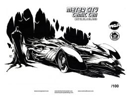 MotorCity2013 exclusive print by KenHunt