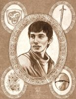 Merlin by HeatherHitchman