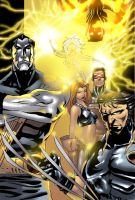 Ultimate X-men cover copy by X-babe