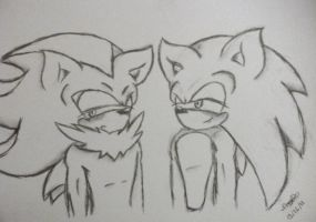 First Sonadow :D by PreaD