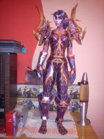 FINISHED! WoW Night elf hunter by totya0108