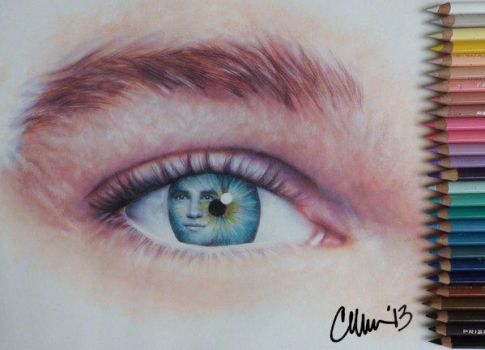 The eyes are the windows of the soul by Live4ArtInLA