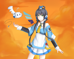 Luo Tianyi by lolitaii