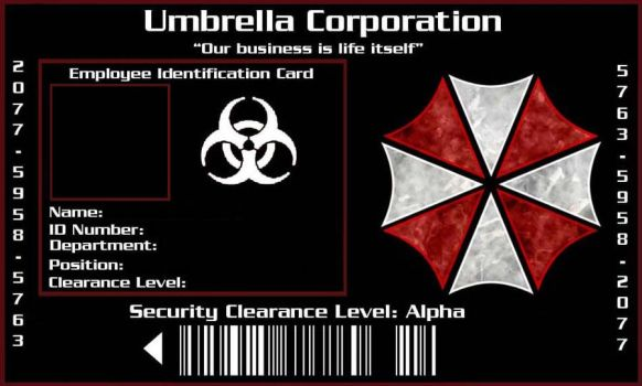 umbrella corporation resident giant poster bjgubma