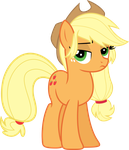 Applejack ain't too pleased, sugarcube. by TheShadowStone