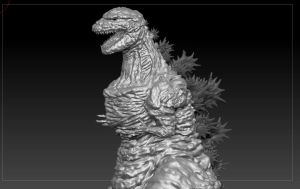 Shin'Godzilla ( progression) by Gabe-TKE