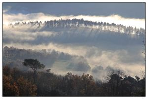 La vallee The morning Automne by arnopiel