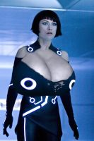 Olivia Wilde TRON Breast Expansion by Zealot42