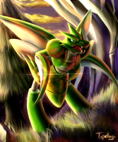 Scyther by Cotton-Monster