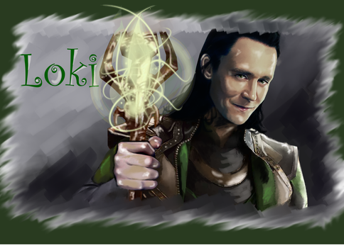 Loki Dark king by LadyMintLeaf
