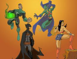 JLA Collab by LightBombMike