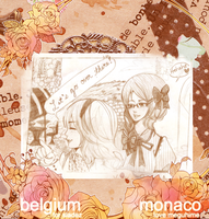 Monaco and Belgium by megani