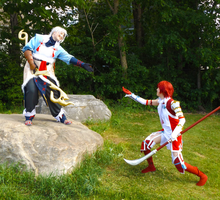 Hoshido in the park by Linked-Fates