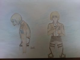 Attack on Titan_Duality_Armin by Pera2401