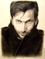 David Tennant by ShortieBat