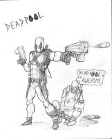 Deadpool is AWESOME! by toonager