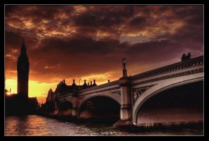 Westminster Bridge - HDR by AbiGriffey