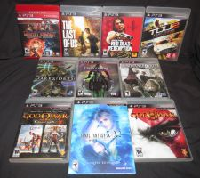 Playstation 3 Game Collection 6-14-14 by Malidicus