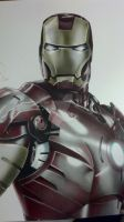 SA Comicon 2012 Colored Pencil Iron-Man by corysmithart
