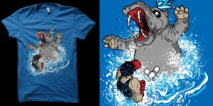 wrong hippo shirt by biotwist