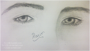 My Drawing - Eyes 2 by h-r158