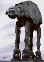 Imperial Walker by Martin-Saelens