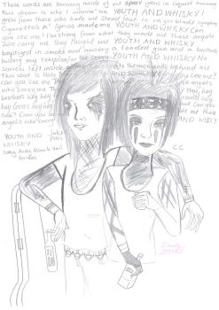 Jake Pitts and CC, buddies 4 eva by LonelyChild-SC